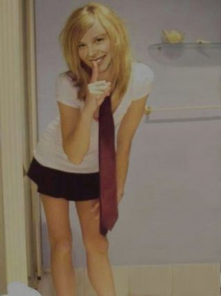 Chloe Moretz to me. This is my latest Chloe Moretz fake picture, which